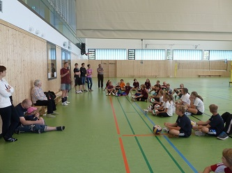 1. Jugend Volleyballturnier in Hangelsberg